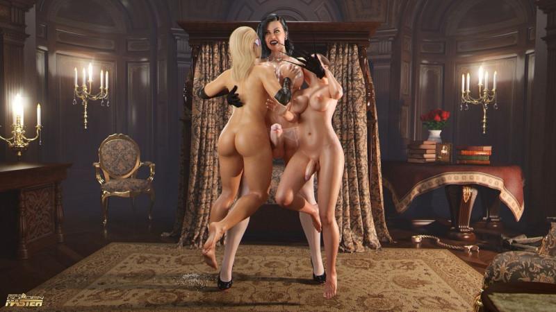 3D  GoldenMaster - Sex Patrol 3: The Transylvanian Fuck 2