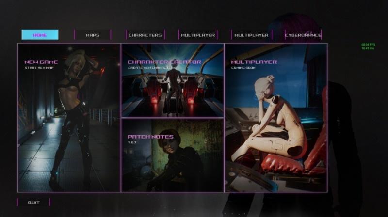 Porn Game: Cyberomance - Version 0.9.2 by Nemesis Soft Ltd
