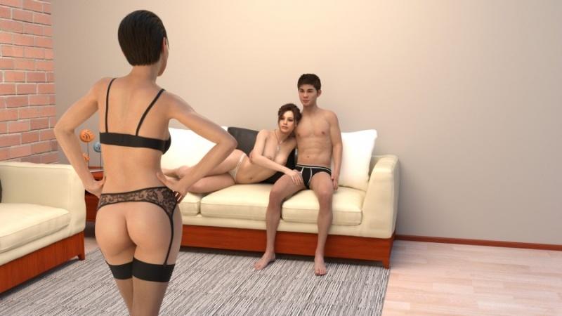 Porn Game: Family Affair Week2 v0.102 by PandaLover