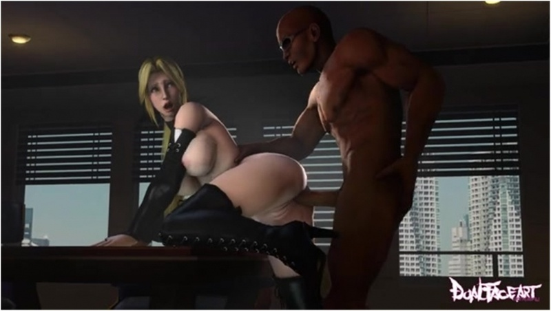 AMOZ Zack and Helena (Dual-Face-Art) [Dead or Alive]