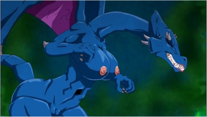 Ridley Aran - Samus transforms into Ridley's wife