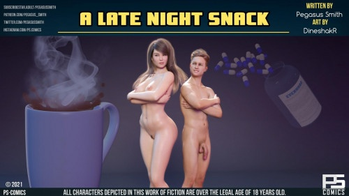 3D  Pegasus Smith - A Late Night Snack