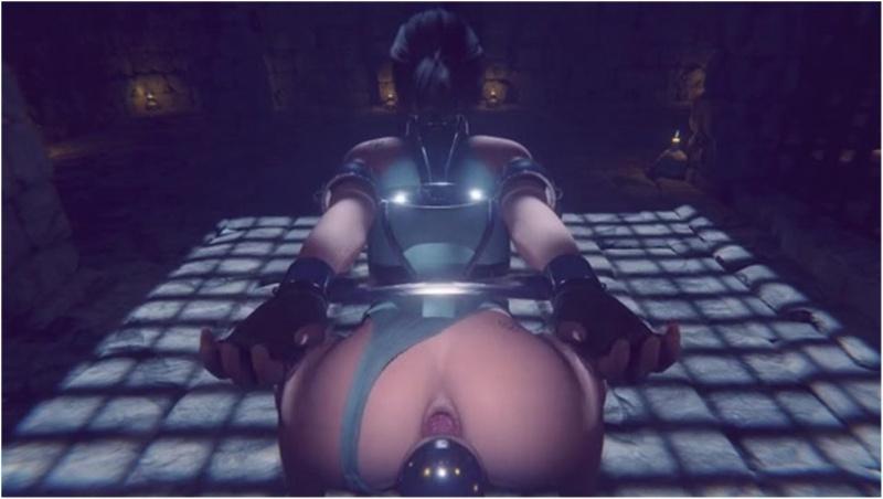 Lara's gape
