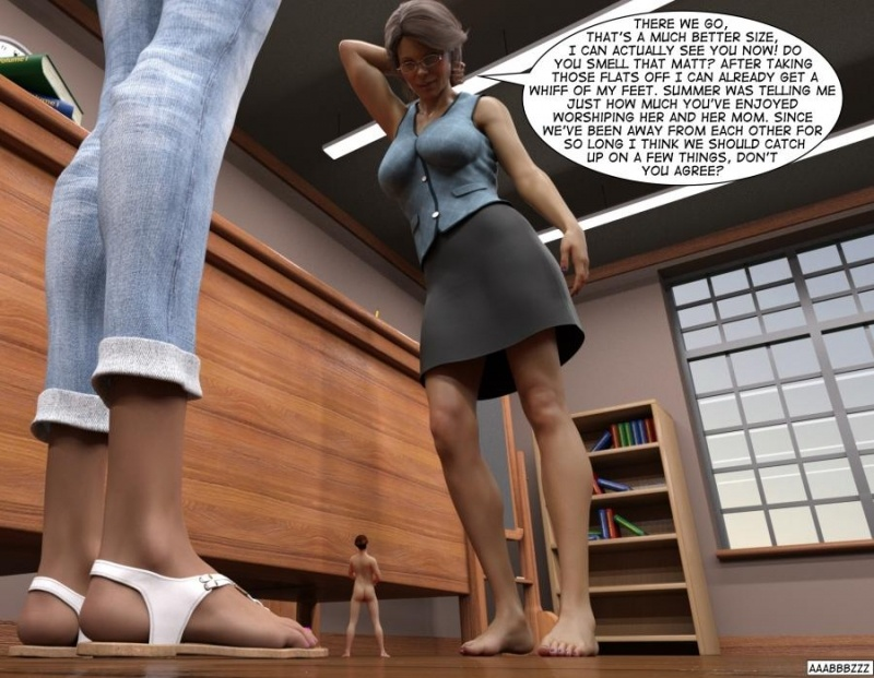 3D  aaabbbzzz - The University Test Subject Chapter 6