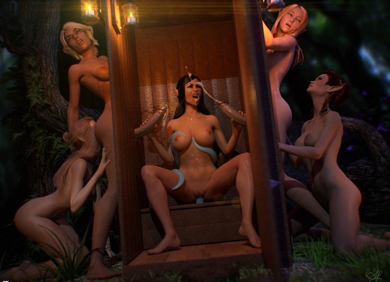 3D  Hot 3d art by AmourEtLuxure