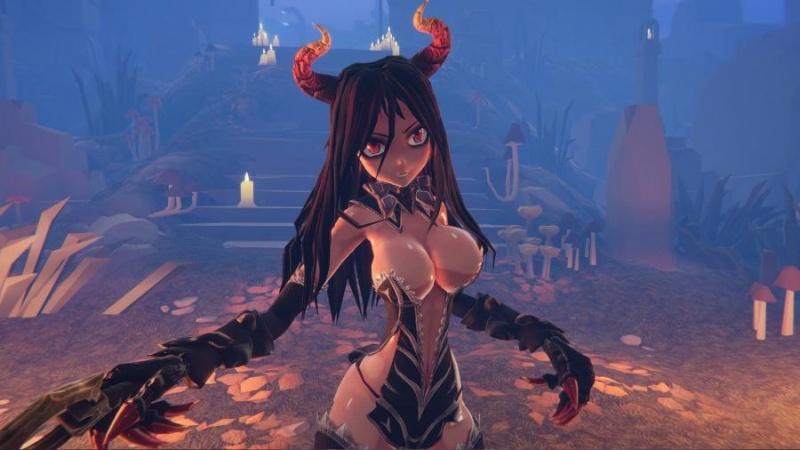 Porn Game: Satur Cat - Succubus With Guns Final Version