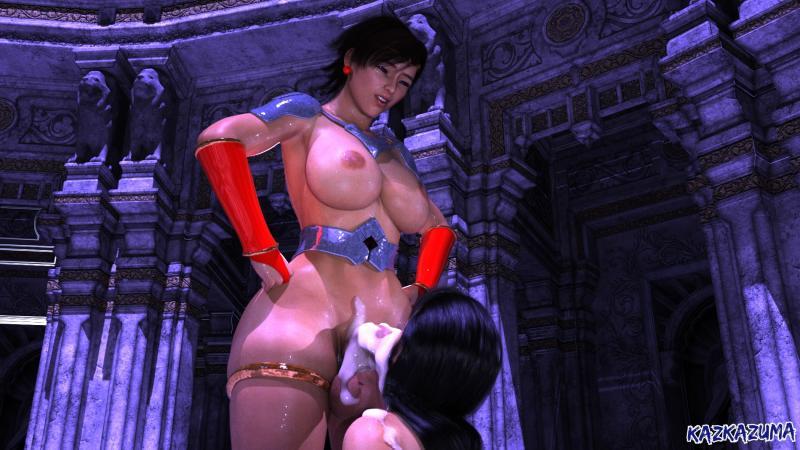 3D  Kazkazuma - Phantom Lady + Jun