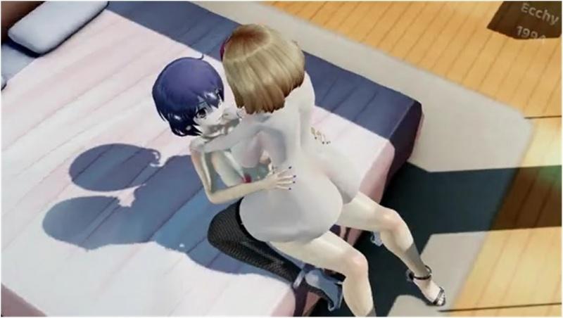 [Futa] Girls Try a New Toy HD (Ecchy1994)
