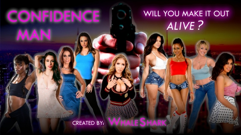 Porn Game: Confidence Man Ch. 1.4 by Whale Shark