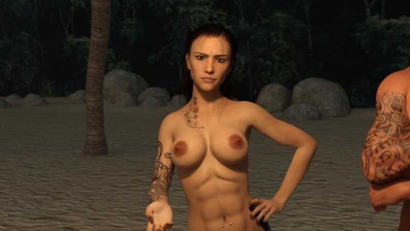 Porn Game: Naked Holidays Day 1-3 by SirHipnos