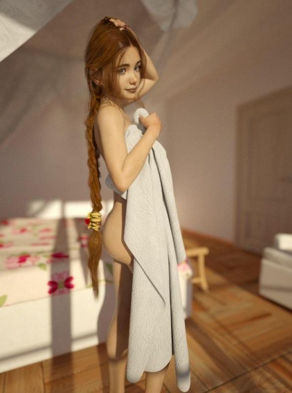 3D  Sexy schoolgirls by Alexjmont