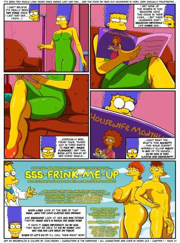 Brompolos - Juni_Draws - The Sexensteins (Simpsons)