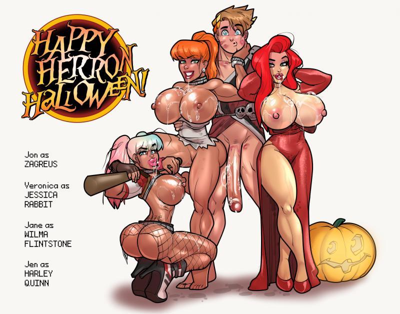 Happy Herron Halloween! + Nude Version - Rabies