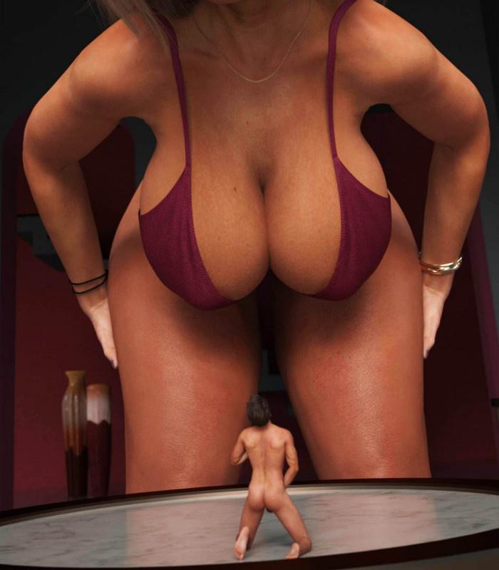 3D  AmGiPi - Sexy Giantess