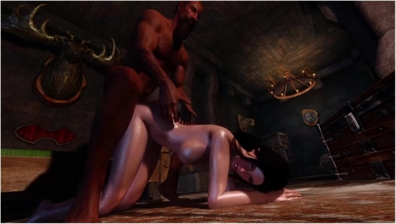 Skyrim - Alina visits Fort Dawnguard