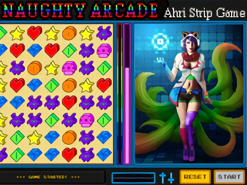 Porn Game: Martaino & Ken1171 - Naughty Arcade Final