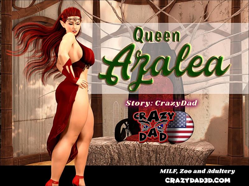 3D  CrazyDad3D - Queen Azalea