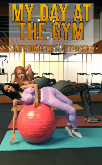3D  GiantPoser - My day at the GYM