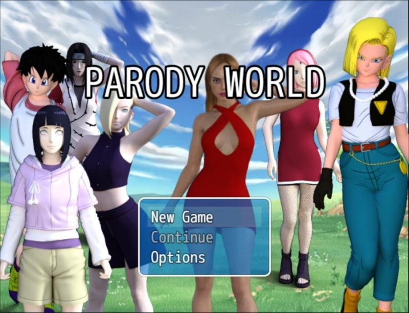 Porn Game: Parody World v0.8 by XR GAMES