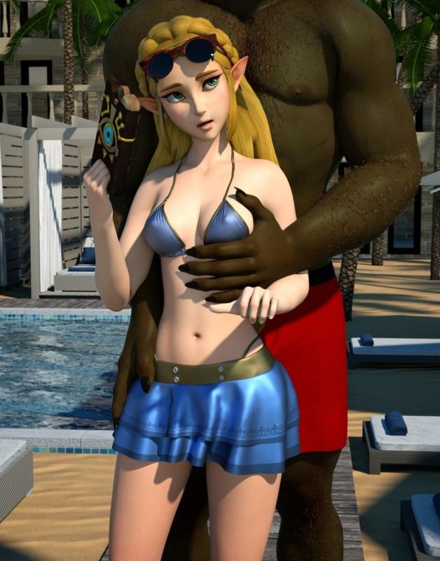 3D  Zafo - Zelda Vacation