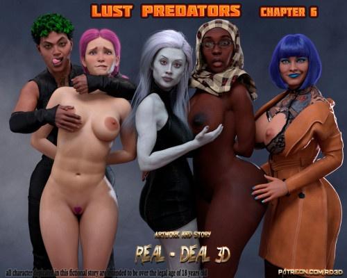 3D  Real-Deal 3D - Lust Predators 06