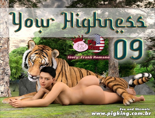 3D  PigKing - Your Highness 09
