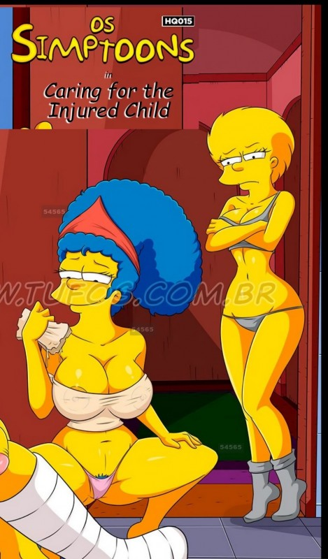 The Simpsons 11 - Caring for the Injured Bartie by Croc