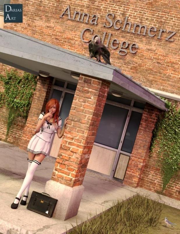 3D  Darias-Art - The Anna Schmerz College
