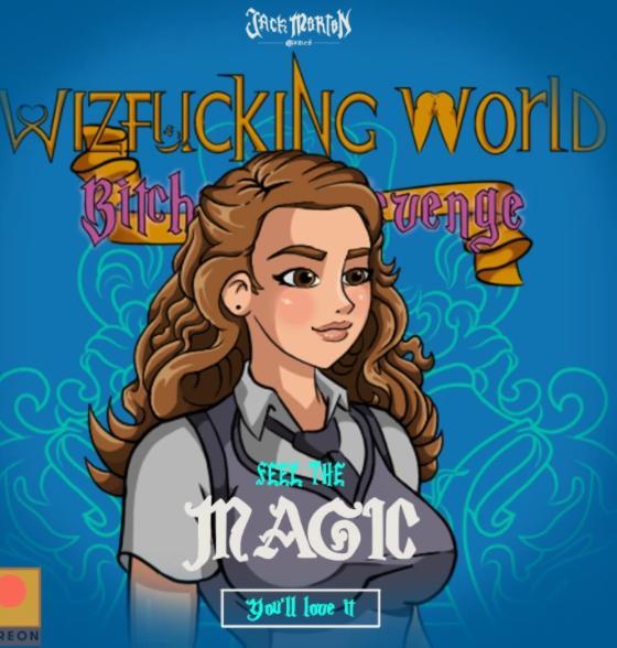Porn Game: Jack Morton - Wizfucking World: Bitchcraft Revenge Version 0.4.5.2