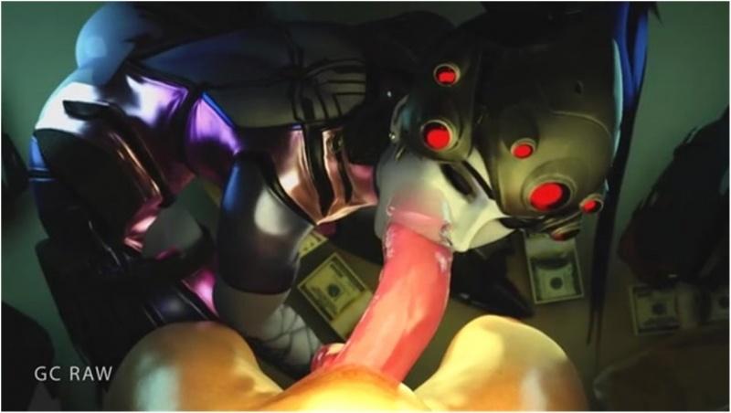 Widowmaker taking big dick