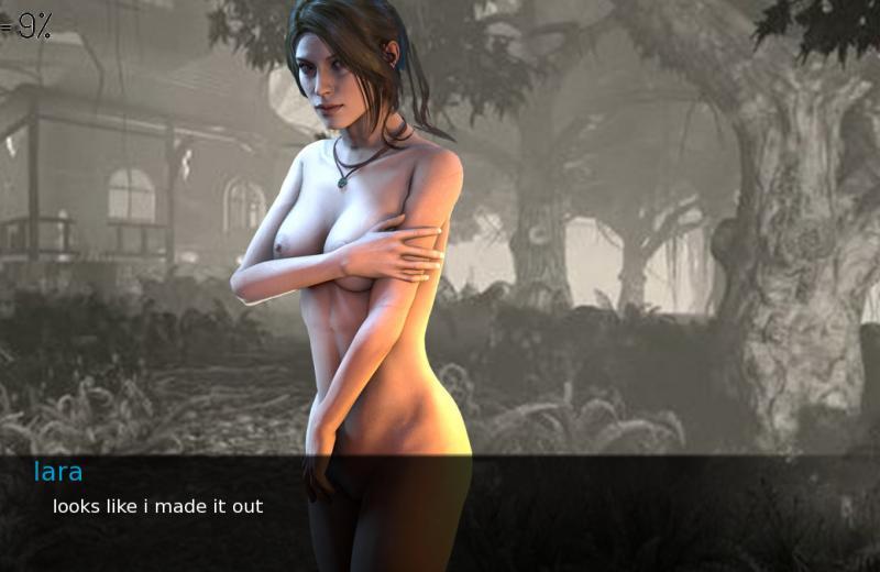 Porn Game: IGG_A1 - Tomb Rider - Lara Croft: an obedient slave
