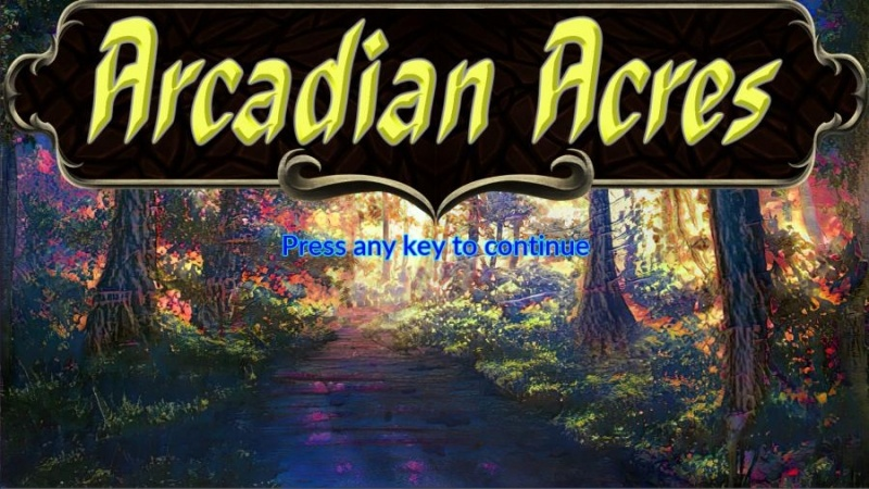 Porn Game: Arcadian Acres v0.1.1 by Wizard++