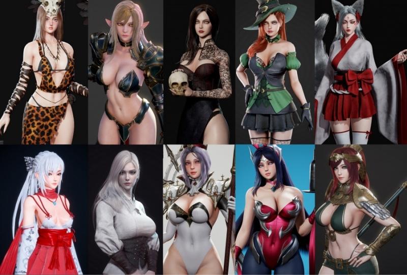 Porn Game: Kazuya, tensun3d - SWORD x HIME ver.1.82 (eng)