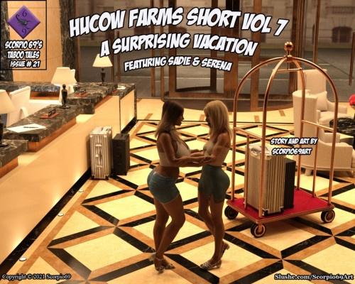 3D  Scorpio69 - Hucow Farms Shorts Vol 7 - A Surprising Vacation