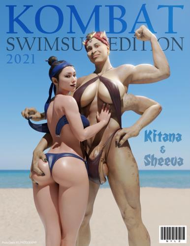 3D  Nyl - Kombat Swimsuit Edition (Mortal Kombat)