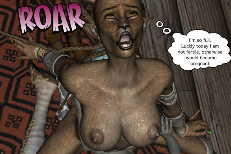 3D  VGer - The Sex Elf Quest Part 1-5