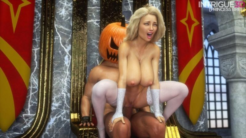3D  Supro - Princess Bree Meets The Pumpkin King