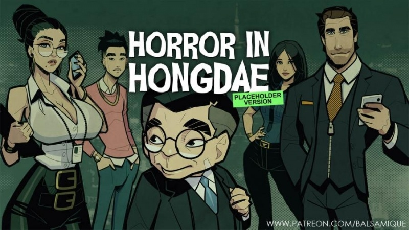 Porn Game: Horror in Hongdae-Placeholder version by David Balsamique