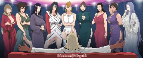 RaikageArt - MILF Event (Naruto)