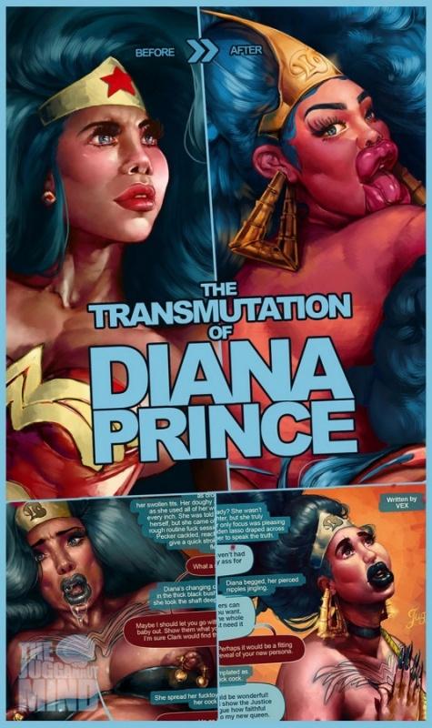 3D  Jugganaut – The TransMutation of Diana Prince