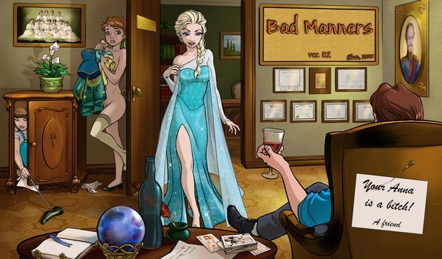 Bad Manners Version E4 English by Skaz Games Studio