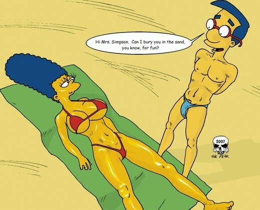 The Fear Simpsons Artwork and 6 Porn Comics